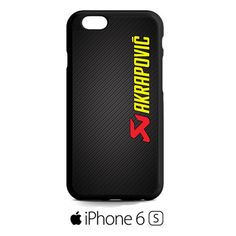 akrapovic exhaust system carbon logo iPhone 6S  Case