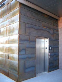 Award-winning Turnkey Building Enclosures since 1969 Tiny House Exterior, House Siding, Modern Exterior, Interior And Exterior, Interior Design, Cement Siding, Metal Siding, Metal Wall Panel, Metal Walls