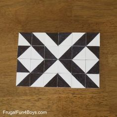 DIY Two-in-One Pattern Blocks - Frugal Fun For Boys and Girls