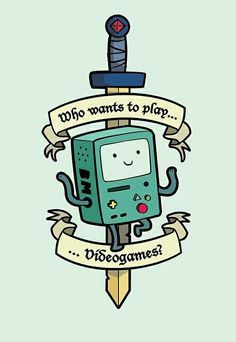 BMO tattoo idea