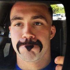 barbas masculinas desenhadas estilosas