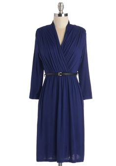 This Is the Life Dress in Cobalt, @ModCloth