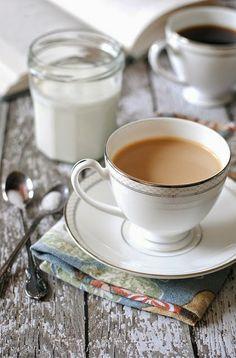 Homemade Vanilla Coffee Creamer
