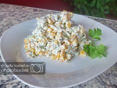 Salata de pui si porumb Potato Salad, Grains, Rice, Potatoes, Vegetables, Ethnic Recipes, Food, Salads, Potato