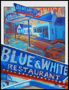 Gotta make it by the famous Blue and White Restaurant in Tunica, Mississippi, established in 1924! Clasic diner! #visitthedelta #mississippi