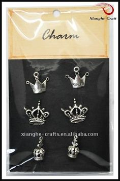 fashion Metal charms for scrapbooking