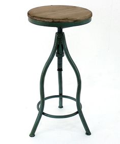 Look what I found on #zulily! Curved Metal Stool by Screen Gems Furniture Accessories #zulilyfinds