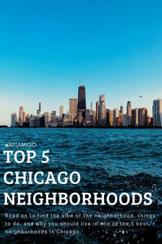 We've compiled a list of the best neighborhoods in Chicago. Read on to find the vibe of the neighborhood, things to do, and why you should live in one of the 5 best neighborhoods in Chicago. Places In Chicago, Moving To Chicago, Best Places To Live, Places To Visit, Moving Overseas, Chicago Neighborhoods, Cool Restaurant, Capital One, Studio Apartment