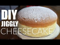 DIY JIGGLY Japanese Cotton CHEESECAKE Recipe | You Made What? - YouTube
