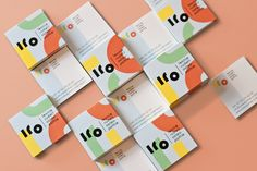 Leonie Rudelt does osteopathy for children. The concept behind this branding was…