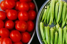 This lightly spicy okra and tomato recipe is great on its own, can be a vegetarian meal with rice, or added alongside grilled meats.