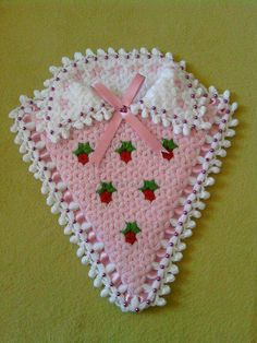 Pot Holders, Crocheting, Baby Applique, Accessories, Crochet, Hot Pads, Potholders, Knits, Lace Knitting