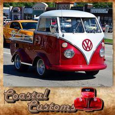 Strange Customs! VW Short Bus. #custom #strange