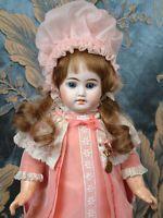 "Delightful 15.5"" French Bebe By Fleischmann & Bloedel Antique Doll~PERFECT!"