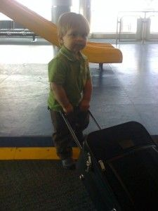 Travel Tips For Flying With A Toddler 12-24mos.