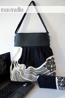 laptop bag by murmullo handbags  www.murmullo.cl