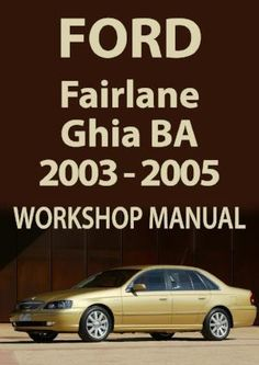 35 best nc fairlane and dc ltd images on pinterest ford ford rh pinterest com Ford Focus Haynes Repair Manual Ford Windstar Repair Manual