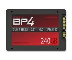 MyDigitalSSD 240GB BP4 2.5 Inch Slim 7mm SATA 6G Solid State Drive (240GB)(256GB) by MyDigitalSSD. $159.99. Unlike their predecessors, BP4 drives have been over provisioned for improved Random Read/Write performance and IOPS, extended performance endurance to reduce sluggishness as the drive fills with data, prolonged drive life, reliability, and low power consumption - all at the unequaled price to performance ratio synonymous with MyDigitalSSD Bullet Proof SSDs...
