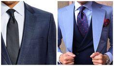 Dica para os homens que usam costume para trabalhar: a largura da gravata deve ser proporcional ao tamanho da lapela do blazer. Assim, lapelas pequenas devem ser combinadas com gravatas mais estreitas.