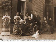 Retour de Louis Martin en famille.