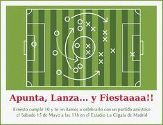 La Fiesta del Futbol-Celebra con estilo con las invitaciones y tarjetas virtuales de LaBelleCarte: www.LaBelleCarte.com Bar Chart, Soccer, Football, Invitations, Phone Case, Party, Russia, Kids, Fiesta Invitations
