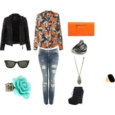 Girls' Night Out, created by treevan on Polyvore