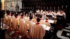 A Festival of Nine Lessons and Carols from Kings College in Cambridge, England.  (Starting at 17 minutes is the Luke reading of word being told to the shepherds - and the following anthem - The Shepherd's Carol, Words, anon. Music, Bob Chilcott. - is simply divine as response.)