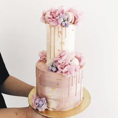 Hey guys & girls, our website is now temporarily closed and we are not taking anymore orders for the time being. This is because we are… Bolo Drip Cake, Bolo Cake, Drip Cakes, Gorgeous Cakes, Pretty Cakes, Amazing Cakes, 21st Birthday Cupcakes, Birthday Cake Girls, 21st Cake