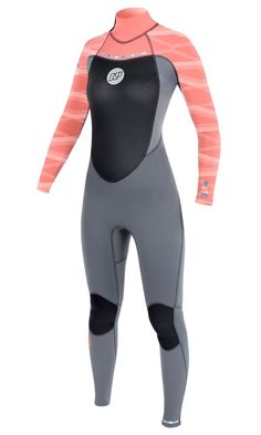 NP Womens for something a little different! Coloured wetsuits from kingofwatersports.com