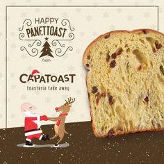 #PANETTOAST ⛄ Per questo #Natale ce ne siamo inventati un'altra delle nostre: un Toast panettone da farcire con Nutella, burro di arachidi, cioccolato bianco o marmellate per tutti i gusti. Lo trovi da CAPATOAST, solo da 22 Dicembre al 7 Gennaio e solo negli store di NAPOLI e CASERTA! Merry Christmas from Capatoast la prima Toasteria Take Away in Italia.