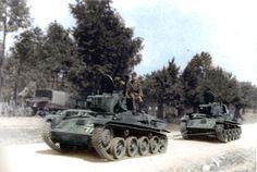 Toldi haul an another Toldi tank .