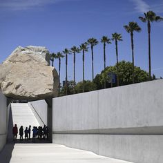LEVITATED MASS. Michael Heizer