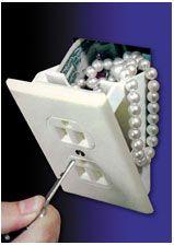 Wall socket safe love this idea! $9