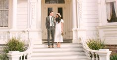 Wedding at Heritage Square Museum, Highland/Glassell Park, CA (Los Angeles), Starting at $1000 site rental fees.  Assuming site rental only, no inclusives, must inquire for more info.