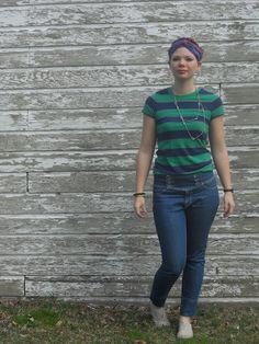 Turban/stripes SS12