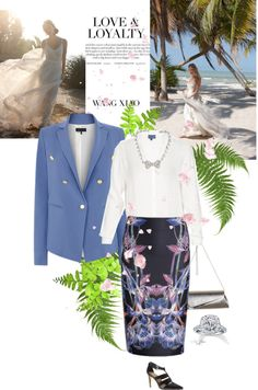 """""""My Real Outfit For Wedding Today"""" by rever-de-paris on Polyvore"""