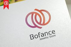 Bofance / Abstract - Logo Template --- It's a elegant, clean, professional, simple design. Fully editable text and color logo. It allows you to design a brand Logo Inspiration, Logos, Cafe Logo, Community Logo, Luxury Logo, Best Logo Design, Branding Design, Graphic Design, Abstract Logo
