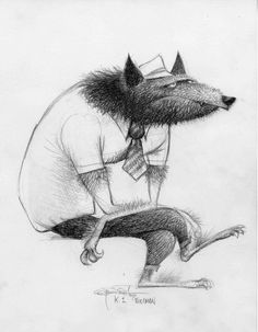 "Carter Goodrich - Wolfman from ""Hotel Transylvania."""
