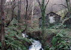 Molino de agua entre los pueblos de Bullaso y Llanteiro en Illano (Asturias)  Foto: Benjamin PS