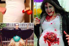 10 idées de déguisements d'Halloween insolites pour femmes enceintes