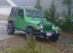 My Beautiful Jeep :)
