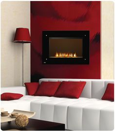 "Napoleon 39"" Wall Mount Electric Fireplace EF39HD at ElectricFireplacesDirect.com"