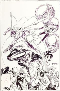Original Comic Art:Covers, Gil Kane DC Comics Presents Image #1