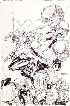 Original Comic Art:Covers, Gil Kane DC Comics Presents Image #1