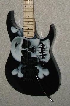 Details on the guitar or bass picture