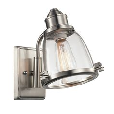 Found it at Wayfair - Belmont 1 Light Wall Sconce
