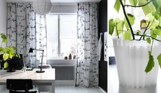 IKEA Curtains Inspiration With Soft Touch