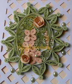 Arte Quilling, Quilling Craft, Quilling Flowers, Quilling Patterns, Quilling Designs, Paper Quilling, Mother Card, Paper Art, Paper Crafts