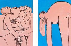 Jeffrey Cheung's cheekily innocent drawings of naughty content.