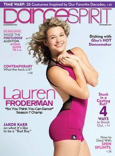 Dance Spirit Magazine Lauren Froderman
